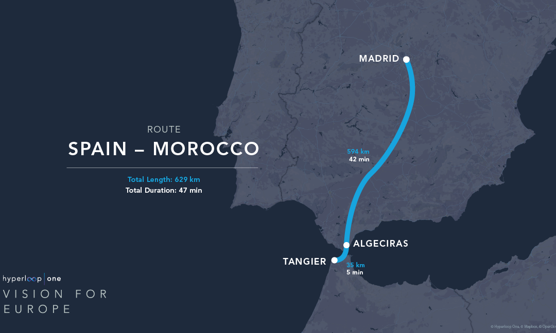 Hyperloop Networks That Could Transform EU Commerce